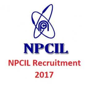 NPCIL Recruitment 2017