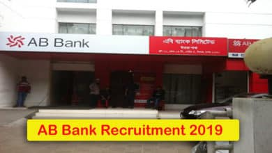 AB Bank Recruitment 2019