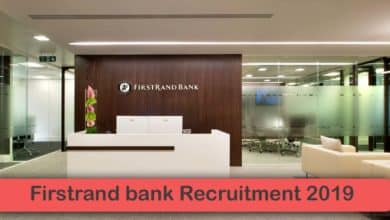 Firstrand bank Recruitment 2019
