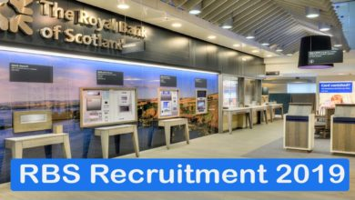 RBS Recruitment 2019