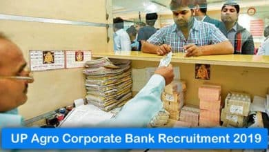 UP Agro Corporate Bank Recruitment 2019